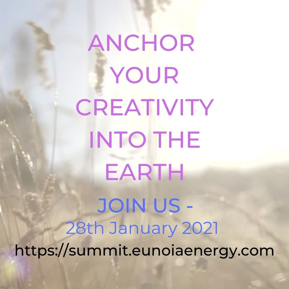 Anchor Your Creativity Into the Earth - Instagram Poster